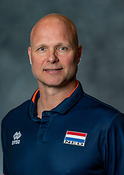 14-05-2019 NED: Photoshoot national volleyball team Women, Arnhem<br /> Ass coach Marko Klok of Netherlands