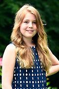 Koninklijke fotosessie 2016 op landgoed De Horsten ( het huis van de koninklijke familie)  in Wassenaar.<br /> <br /> Royal photoshoot 2016 at De Horsten estate (the home of the royal family) in Wassenaar.<br /> <br /> Op de foto / On the photo: prinses Alexia / Princess Alexia