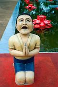Buddhist statue art in Sri Lanka