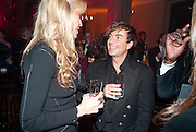 MELISSA ODABASH; JULIAN MACDONALD, IMG HERALD TRIBUNE HERITAGE LUXURY PARTY.- Celebration of Heritage Luxury and 10 years of the International Herald Tribune Luxury Conferences. North Audley St. London. 9 November 2010. -DO NOT ARCHIVE-© Copyright Photograph by Dafydd Jones. 248 Clapham Rd. London SW9 0PZ. Tel 0207 820 0771. www.dafjones.com.
