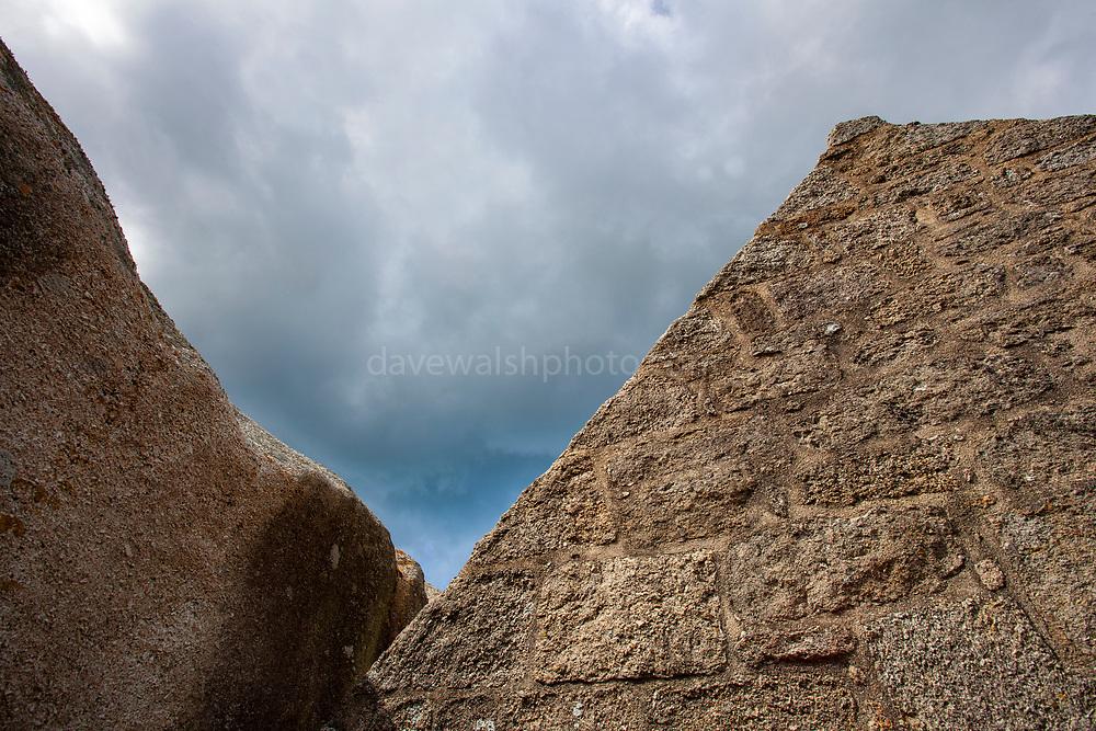 Guardhouse - Le poste de garde de Meneham<br /> - The remarkable hamlet of Meneham in Brittany, France.