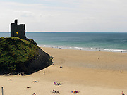 SUNBATHERS ON BALLYBUNION BEACH.Picture by Don MacMonagle