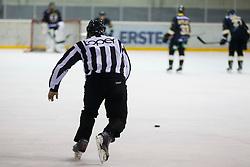 Referee during Inter National League ice hockey match between HK Playboy Slavija and HK ECE Celje, on September 30, 2015, in Ledena Dvorana Zalog, Ljubljana, Slovenia. Photo by Urban Urbanc / Sportida