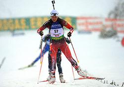 Zina Kocher (CAN) at Women 15 km Individual at E.ON Ruhrgas IBU World Cup Biathlon in Hochfilzen (replacement Pokljuka), on December 18, 2008, in Hochfilzen, Austria. (Photo by Vid Ponikvar / Sportida)