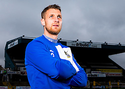 Lee Brown of Bristol Rovers pose for a portrait - Mandatory by-line: Robbie Stephenson/JMP - 15/04/2016 - FOOTBALL - The Memorial Ground - Bristol, England -  v  - Bristol Rovers Portraits