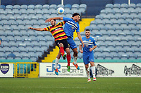 Lewis Montrose. Stockport County FC 2-0 Bradford Park Avenue. Buildbase FA Trophy. 26.11.16
