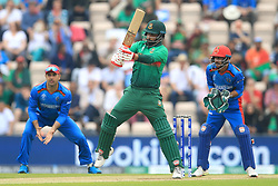 Bangladesh's Tamim Iqbal during the ICC Cricket World Cup group stage match at The Hampshire Bowl, Southampton.