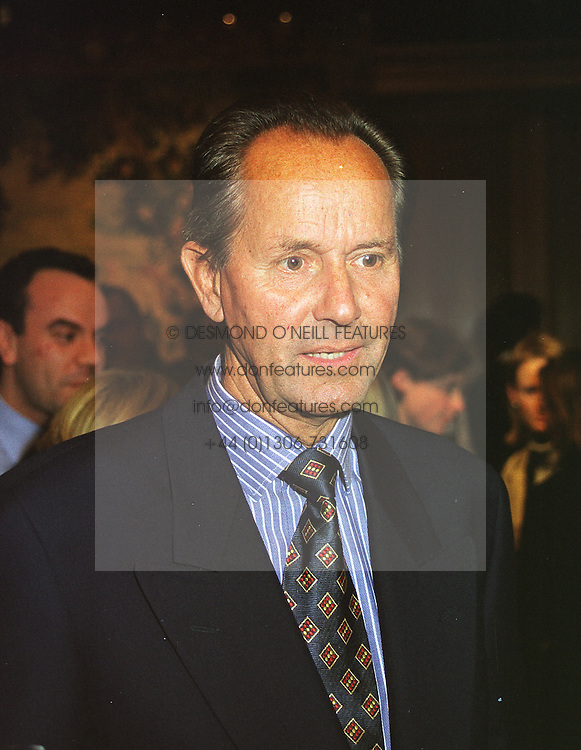 COUNT ROLF ANDRESEN son of Vicomtesse d'Orthez, at a reception in London on 22nd March 1999.MPO 43