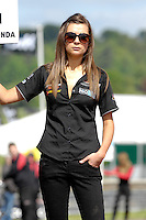 2008 British Touring Car Championship.Thruxton Circuit, Hampshire, United Kingdom.  17th-18th May 2008..Team Eurotech Grid Girl.World Copyright: Peter Taylor/PSP