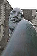 Sculpture at Christchurch Cathedral, Christchurch, New Zealand