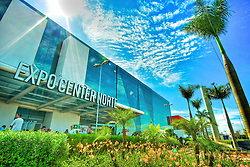 Expo Center Norte é um pavilhão de exposições localizado no distrito de Vila Guilherme, na região norte de São Paulo, anexo ao Shopping Center Norte. É dotado atualmente de uma área de 62.376 m² e 6 mil vagas de estacionamento. FOTO: Jefferson Bernardes/Preview.com