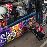 NLD/Bangkok/20180713 - Vakantie Thailand 2018, Thaise vrachtwagen