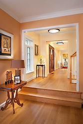 3238 O Street NW Washington, DC Design House Hallway foyer entrance archway