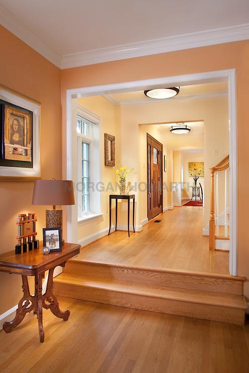 3238 O Street NW Washington, DC Design House Hallway foyer entrance archway