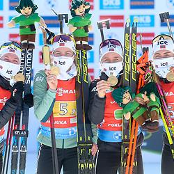 20210220: SLO, Biathlon - IBU Biathlon World Championships 2021 Pokljuka, 4x6km Relay Women