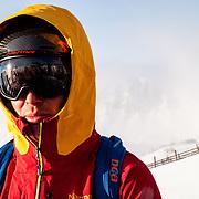 Portrait of skier Forrest Jillson.