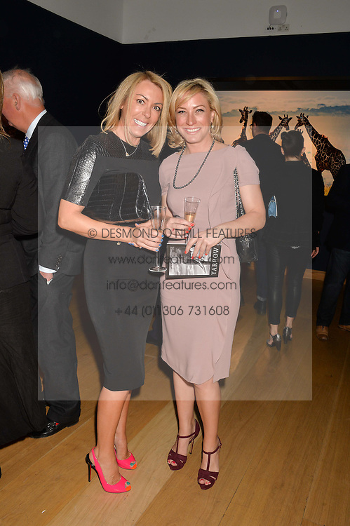 Left to right, GRANIA STEPHENSON and CLAUDIA WALKER at the Christie's Conservation Lectures in aid of Tusk held atChristie's, 8 King Street, London on 30th April 2014.