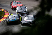 Henry 180, Road America in Elkhart Lake, Wisconsin. Scott Heckert, B.J. McLeod Motorsports, Michael Annett, JR Motorsports, Chevrolet