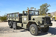 M35 2½-Ton Cargo Truck on Display at the General Patton Memorial Museum