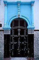 Maroc - Rabat - La Medina - Porte