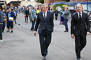 Former England Manager Roy Hodgson walking towards Stamford Bridge before k/o. Premier league match, Chelsea v Liverpool at Stamford Bridge in London on Friday 16th September 2016.<br /> pic by John Patrick Fletcher, Andrew Orchard sports photography.