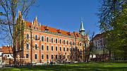 Wyższe Seminarium Duchowne Archidiecezji Krakowskiej - widok od strony Plant, Kraków, Polska<br /> Higher Seminary of the Archdiocese of Cracow - view from Plant, Cracow, Poland
