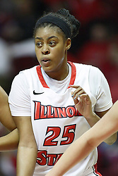 07 December 2012:  Janae Smith during an NCAA women's basketball game between the Northwestern Wildcats and the Illinois Sate Redbirds at Redbird Arena in Normal IL
