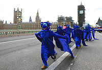 Marine Extinction march through London Photo by Roger Alarcon