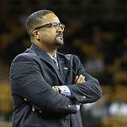 ORLANDO, FL - DECEMBER 31:  Head coach Frank Haith of the Tulsa Golden Hurricane watches from the bench during an NCAA basketball game against the UCF Knights at the CFE Arena on December 31, 2014 in Orlando, Florida. (Photo by Alex Menendez/Getty Images) *** Local Caption *** Frank Haith