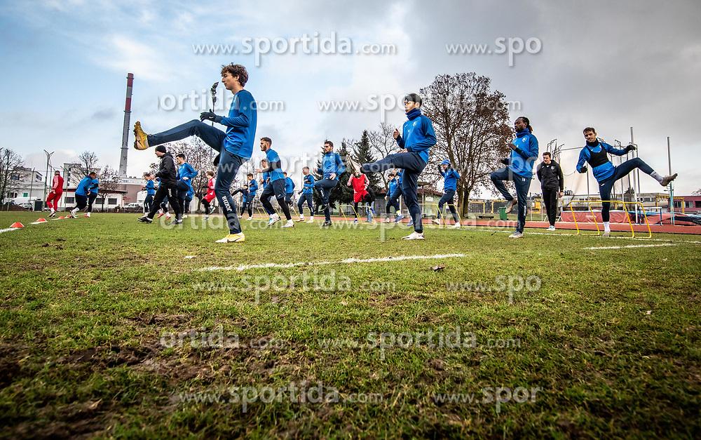 Athletes during first practice session of NK Bravo before the spring season of Prva liga Telekom Slovenije 2020/21, on January 5, 2021 in Sports park ZAK, Ljubljana Slovenia. Photo by Vid Ponikvar / Sportida