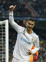 Cristiano Ronaldo of Real Madrid during the UEFA Champions League group H match between Real Madrid and Borussia Dortmund on December 06, 2017 at the Santiago Bernabeu stadium in Madrid, Spain.