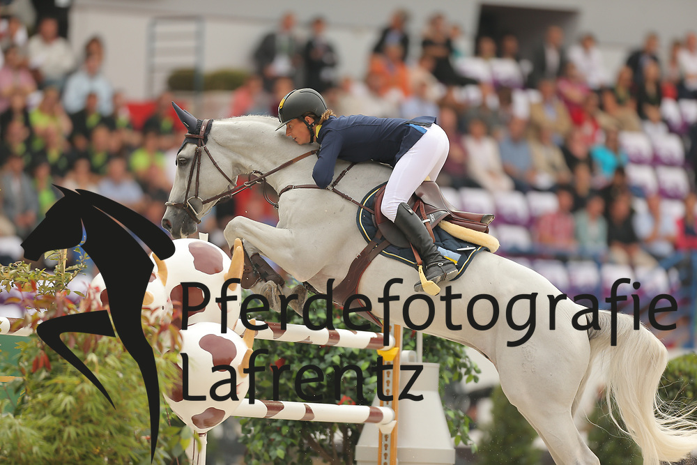 Offel, Katharina, Charlie<br /> Normandie - WEG 2014<br /> Springen - Finale III<br /> © www.sportfotos-lafrentz.de/ Stefan Lafrentz