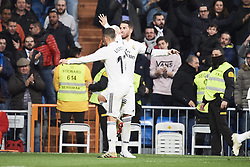 January 24, 2019 - Madrid, Spain - Sergio Ramos (defender; Real Madrid), Lucas Vazquez (midfielder; Real Madrid) in action during Copa del Rey, Quarter Final match between Real Madrid and Girona FC at Santiago Bernabeu Stadium on January 24, 2019 in Madrid, Spain (Credit Image: © Jack Abuin/ZUMA Wire)