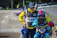 #741 (ARBOLEDA OSPINA Diego Alejandro) COL during practice at Round 5 of the 2018 UCI BMX Superscross World Cup in Zolder, Belgium