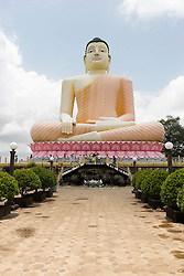 The gigantic Buddha Statue at Kande Viharaya Temple, Beruwala, Sri Lanka