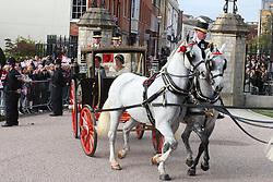The wedding of Princess Eugenie and Jack Brooksbank at Windsor Castle, Windsor. 12 Oct 2018 Pictured: The wedding of Princess Eugenie and Jack Brooksbank at Windsor Castle, Windsor. Photo credit: MEGA TheMegaAgency.com +1 888 505 6342