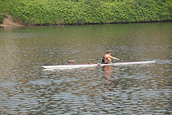 Boathouse Row area along the Schuylkill River, scullers rowing..Philadelphia, Pennsylvania, PA USA.  Photo copyright Lee Foster, 510-549-2202, lee@fostertravel.com, www.fostertravel.com. Photo 316-30194