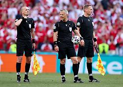 COPENHAGEN, DENMARK - JUNE 17:  during the UEFA Euro 2020 Championship Group B match between Denmark and Belgium at Parken Stadium on June 17, 2021 in Copenhagen, Denmark. (Photo by Martin Rose - UEFA)