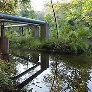 Steam Pipes, East Branch Housatonic River, Dalton, MA