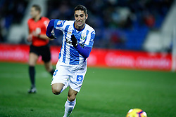 November 23, 2018 - Leganes, MADRID, SPAIN - Sabin Merino of Leganes during the Spanish Championship La Liga football match between CD Leganes and Deportivo Alaves on November 23th, 2018 at Estadio de Butarque in Leganes, Madrid, Spain. (Credit Image: © AFP7 via ZUMA Wire)
