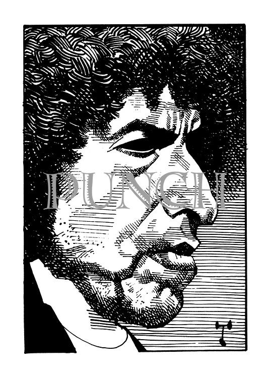 (Portrait of Bob Dylan)
