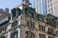 architecture on 32nd street in New york City in October 2008