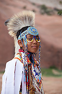 Intertribal Ceremonial, Pow wow, dancer, Nakai A. Weeks, 10 yrs old, Gallup, New Mexico
