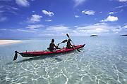 Kayaking, Cook Islands, Aitutaki<br />