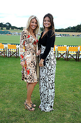 Left to right, STEPHANIE COATEN and LADY NATASHA RUFUS-ISAACS at the 2008 Veuve Clicquot Gold Cup polo final at Cowdray Park Polo Club, Midhurst, West Sussex on 20th July 2008.<br /> <br /> NON EXCLUSIVE - WORLD RIGHTS