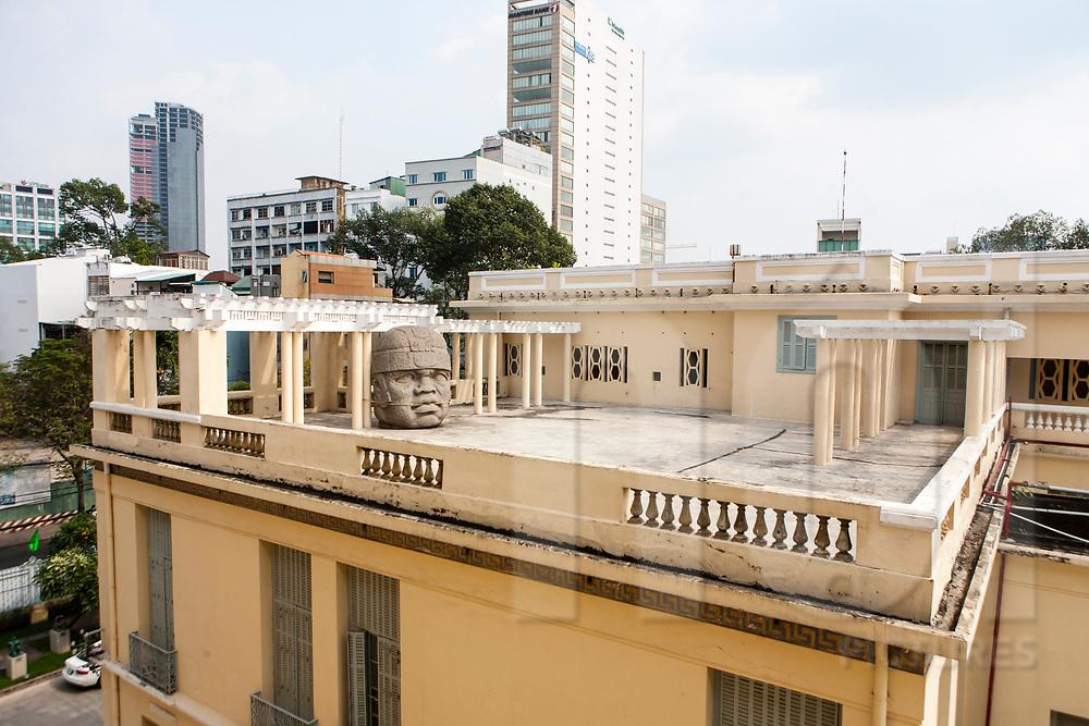 Architecture of the Fine Art Museum, Ho Chi Minh city, Vietnam, Southeast Asia