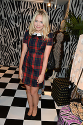 POPPY JAMIE at the Mother Of Pearl, Polly Morgan & Sunday Times Style Hosted London Fashion Week Pop-Up Shop at The Shop at Bluebird, Kings Road, London on 12th September 2013.