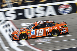 September 14, 2018 - Las Vegas, Nevada, United States of America - Daniel Suarez (19) brings his race car down the front stretch during practice for the South Point 400 at Las Vegas Motor Speedway in Las Vegas, Nevada. (Credit Image: © Chris Owens Asp Inc/ASP via ZUMA Wire)