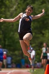 girls long jump, Maine State Track & FIeld Meet - Class B
