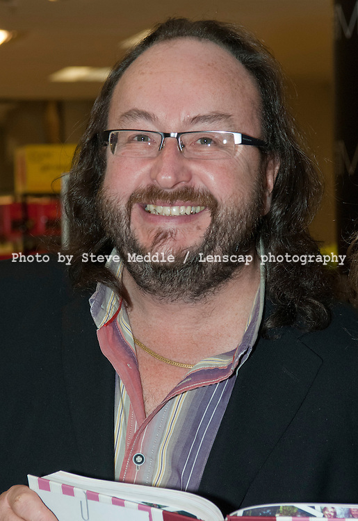 The Hairy Bikers, Dave Myers, booksigning, Marks and Spencer, London , Britain - 11 March 2010